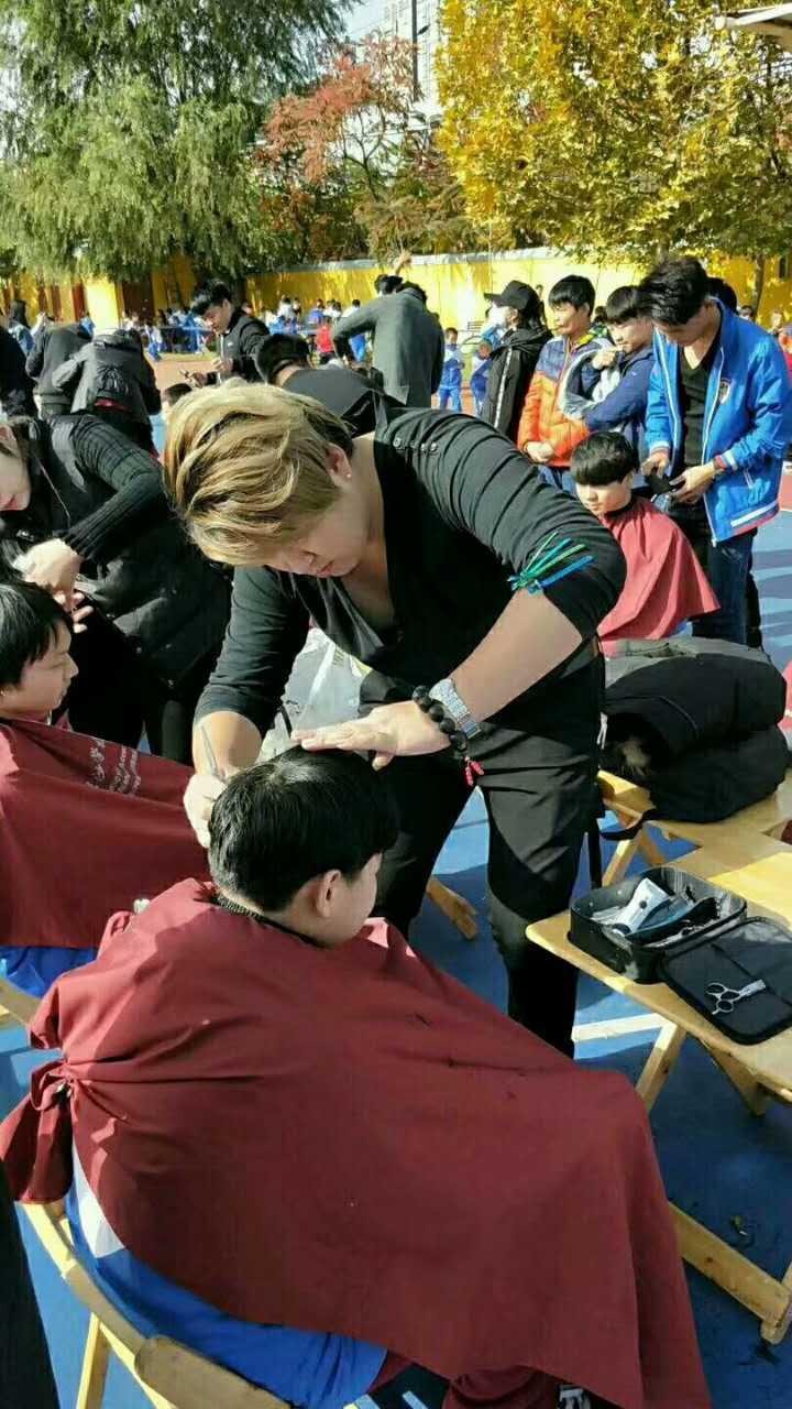 北京沙宣美发学校67携手石景山社区公益中心活动完美收官!图片